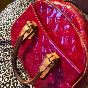 Louis Vuitton Summit Drive Monogram Vernis Bag